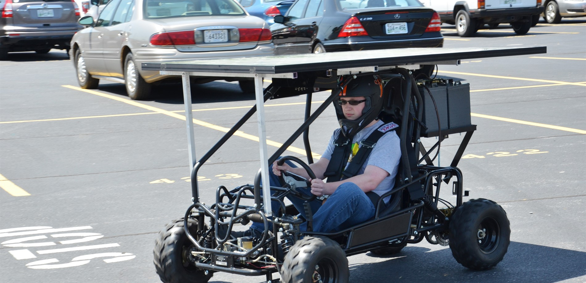STEM Solar-powered Go-Kart